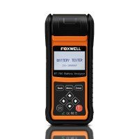 Foxwell BT780 BT-780 Battery Analyzer with Built-in Thermal Printer Ottimo Qualità