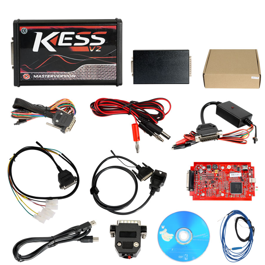 Kess V5.017 package list