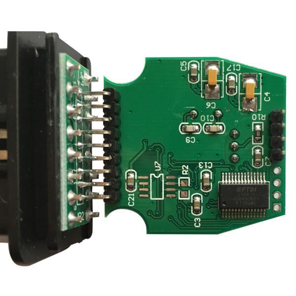 TOYOTA MINI VCI PCB display - 02