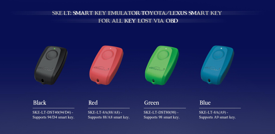 Lonsdor k518 smart key emulator