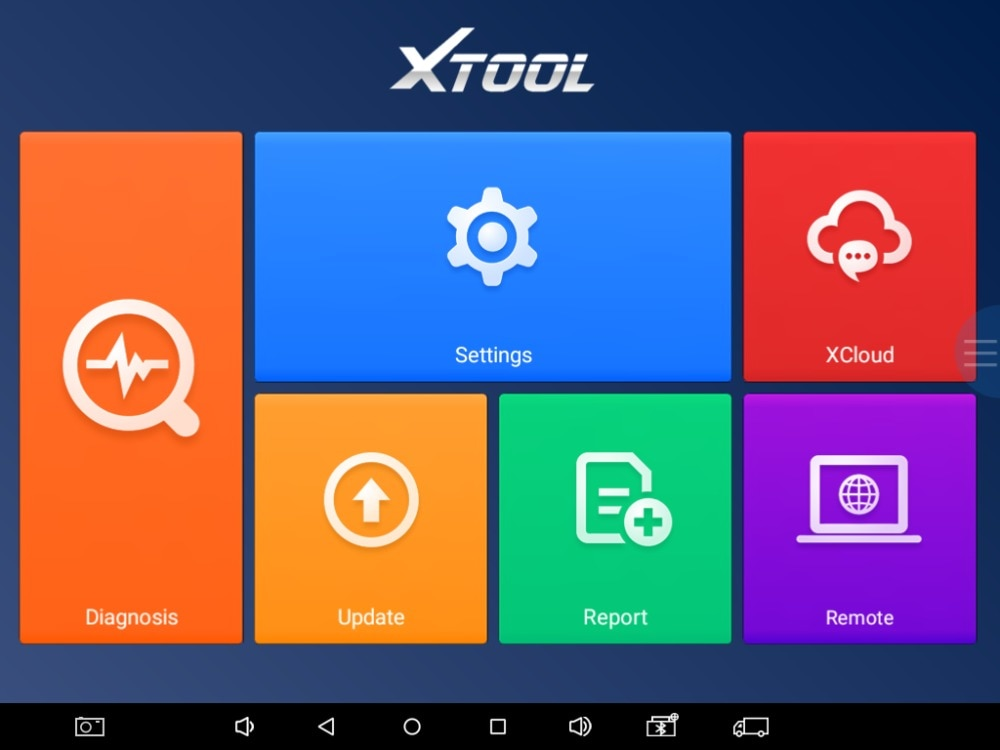 Xtool A80 All System Diagnostic tool display-05