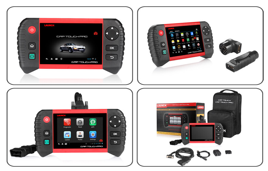 Launch CRP Touch Pro package list