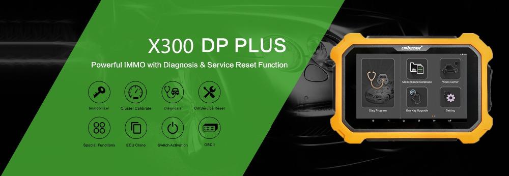 OBDSTAR X300 DP Plus X300 PAD2 C Pacchetto Full Versione Supporta ECU  Programming Toyota Smart Key Get Free Renault Convertor UK Spedizione